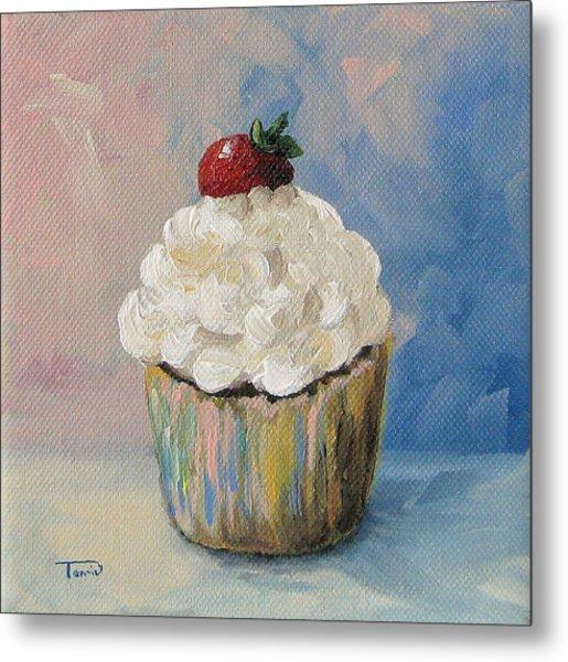Cupcake 005 Metal Print by Torrie Smiley