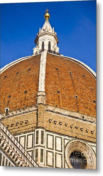 Cupola On Florence Duomo Metal Print