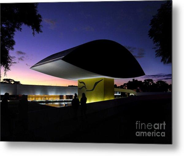 Curitiba - Museu Oscar Niemeyer Metal Print