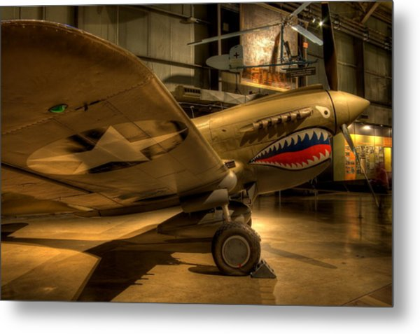 Curtiss P-40 Warhawk Metal Print