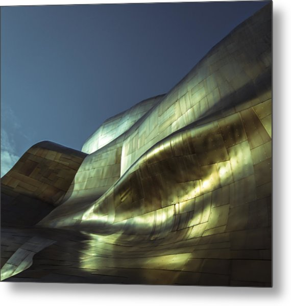 Curves Metal Print by Akos Kozari