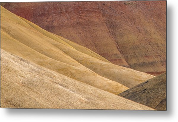 Curves And Colors Metal Print by Joe Hudspeth