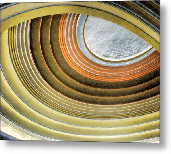 Curving Ceiling Metal Print