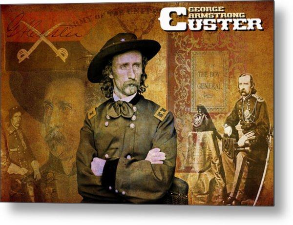 Custer Metal Print