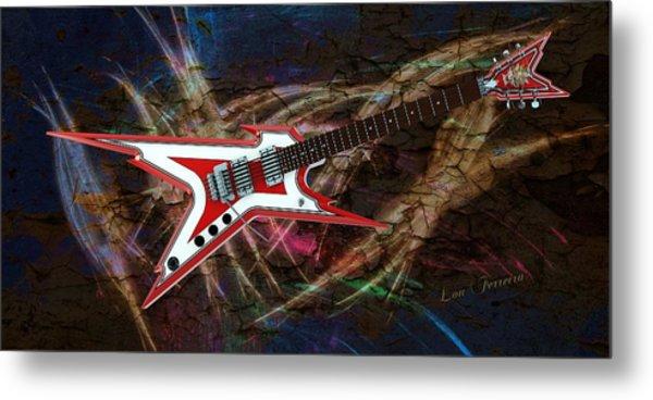 Custom Guitar  Metal Print