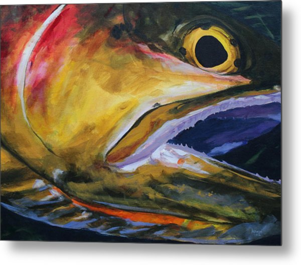 Cutthroat Metal Print