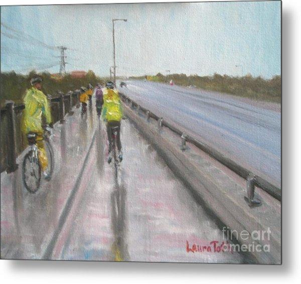 Cycle Club Metal Print