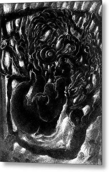Cycle In Process Metal Print