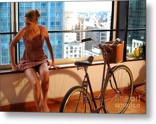 Cycle Introspection Metal Print