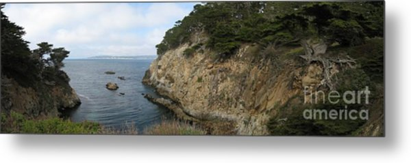 Cypress Cove Panorama Metal Print