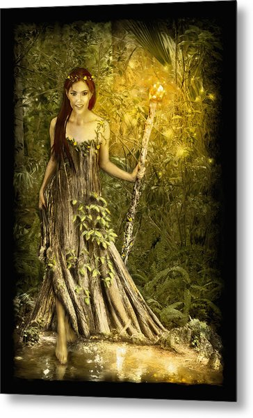 Cypress Queen Metal Print