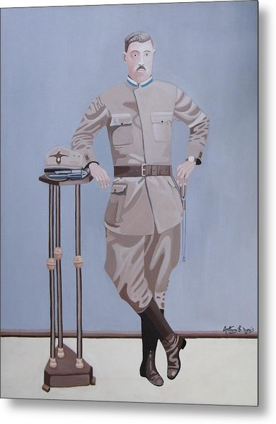 Czech Soldier Metal Print by Anthony Morris