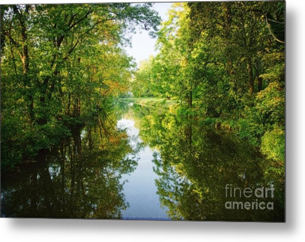 D And R Canal  Metal Print