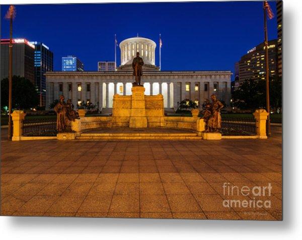 D13l112 Ohio Statehouse Photo Metal Print