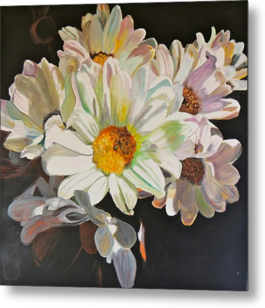 Daisies Metal Print by Jgyoungmd Aka John G Young MD