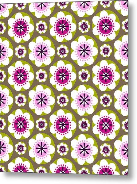 Daisy's Flower Garden Metal Print