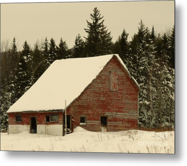 Dale Lane Barn Metal Print