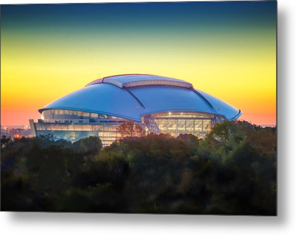 Home Of The Dallas Cowboys Metal Print