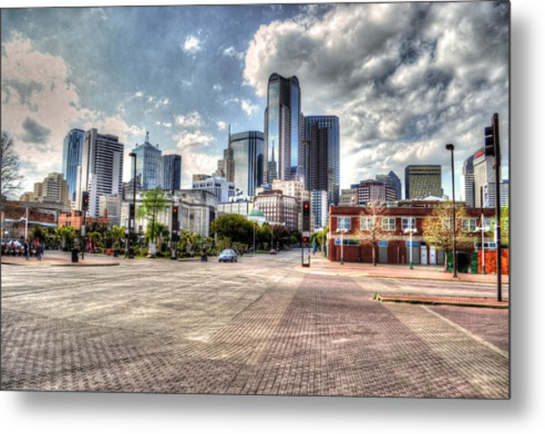 Dallas Near Farmers Market Metal Print