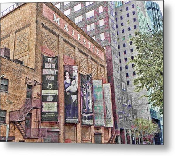 Dallas Texas Majestic Theater Metal Print