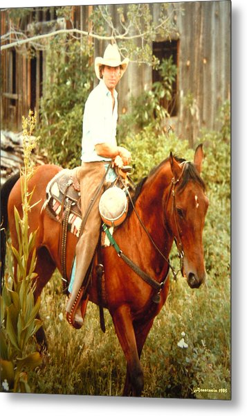 Dan Fogelberg Riding By The Old Schoolhouse Metal Print