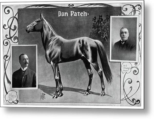 Dan Patch (1896-1916) Metal Print