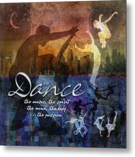 Dance Bright Colors Metal Print