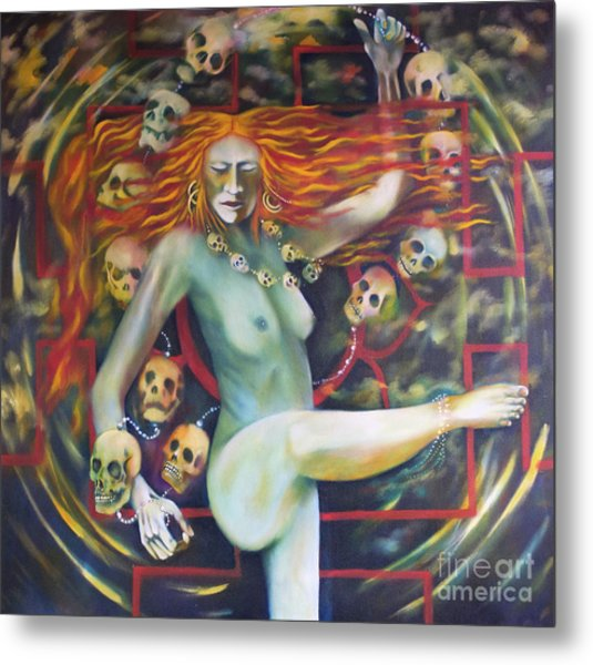 Dance For Kali Metal Print