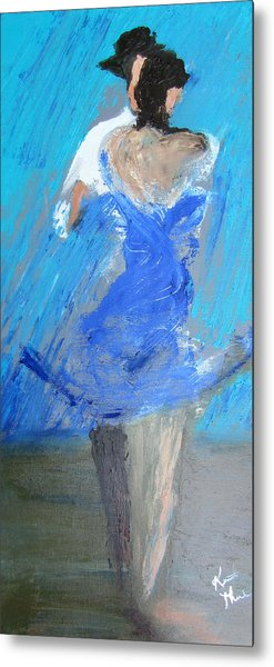 Dance In The Rain Metal Print