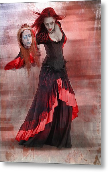 Dance Macabre Metal Print by Hazel Billingsley
