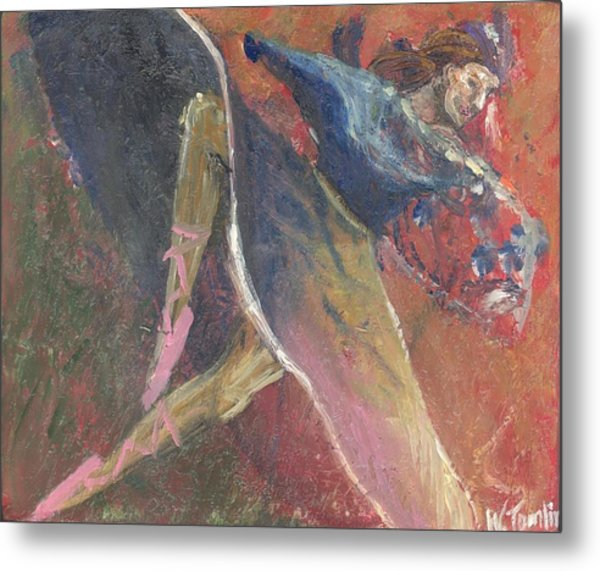 'dance Over Me' Metal Print