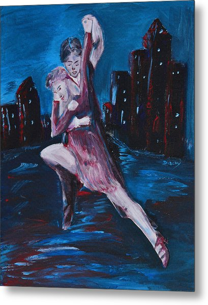 Dance The Night Away Metal Print