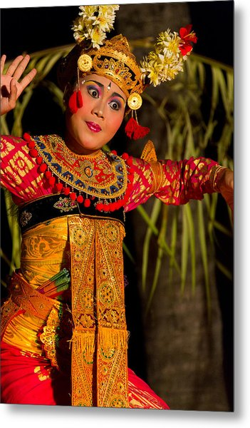Dancer - Bali Metal Print