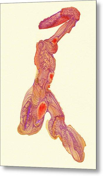 Dancer- #ss14dw016 Metal Print by Satomi Sugimoto