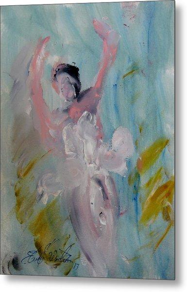 Dancers 140 Metal Print by Edward Wolverton