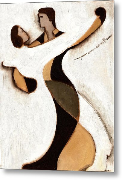 Tommervik Abstract Dancers  Art Print Metal Print