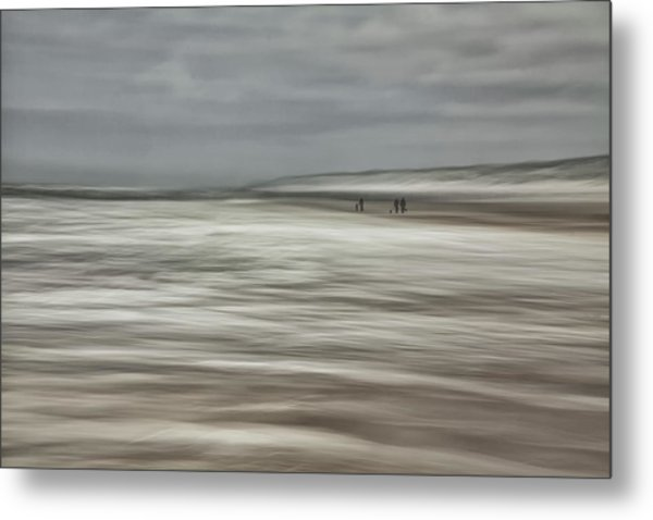 Dancing With Light And Weather ... Metal Print by Yvette Depaepe