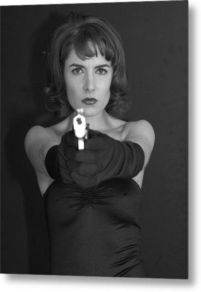 Dangerous Woman 3 Metal Print