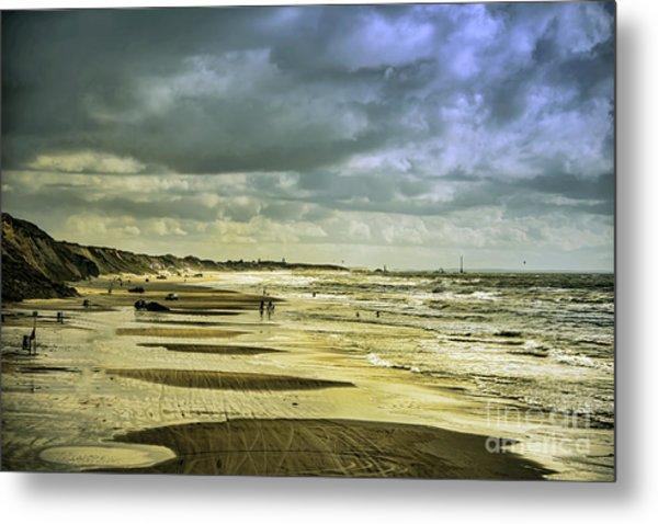 Danish West Coast Beach Metal Print