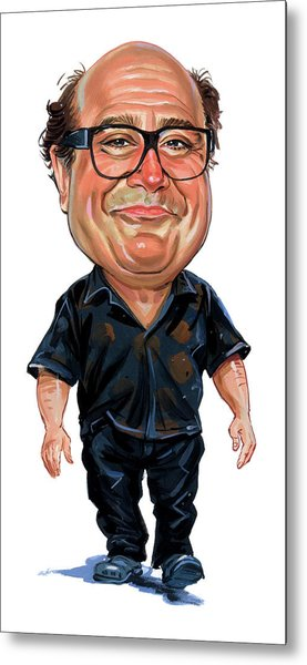Danny Devito Metal Print by Art