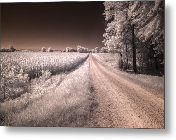 Dark And Dusty Painted On The Sky Metal Print