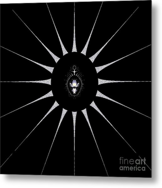 Dark Crest Metal Print by Maurice King