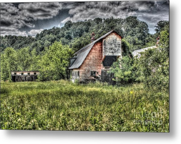 Dark Days For The Farm Metal Print