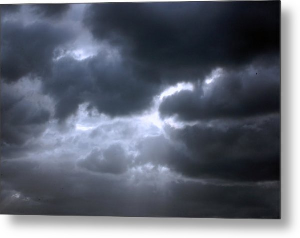 Dark Light Metal Print