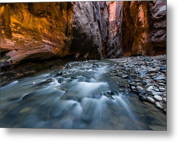 Dark Passage Metal Print