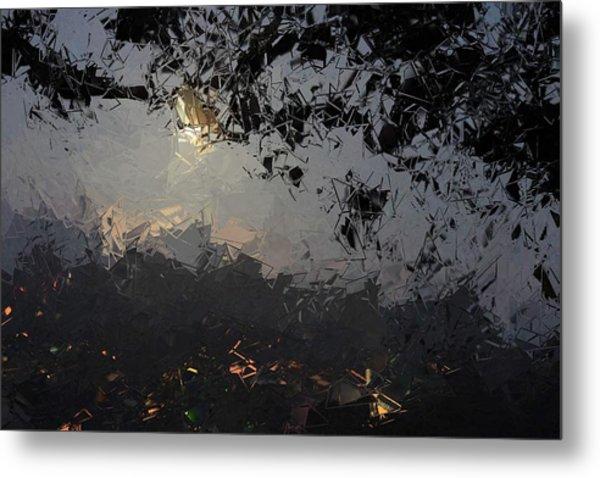 Dark Rain Metal Print