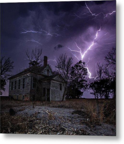 Dark Stormy Place Metal Print