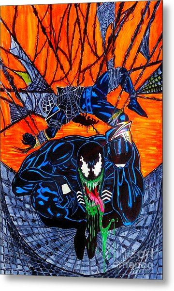 Darkhawk Issue 13 Homage Metal Print