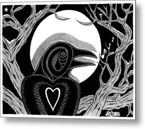 Darkness And Light Metal Print