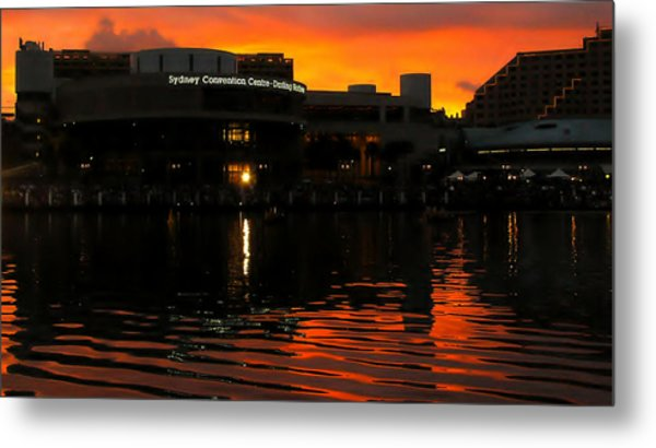 Darling Harbour Evening Metal Print